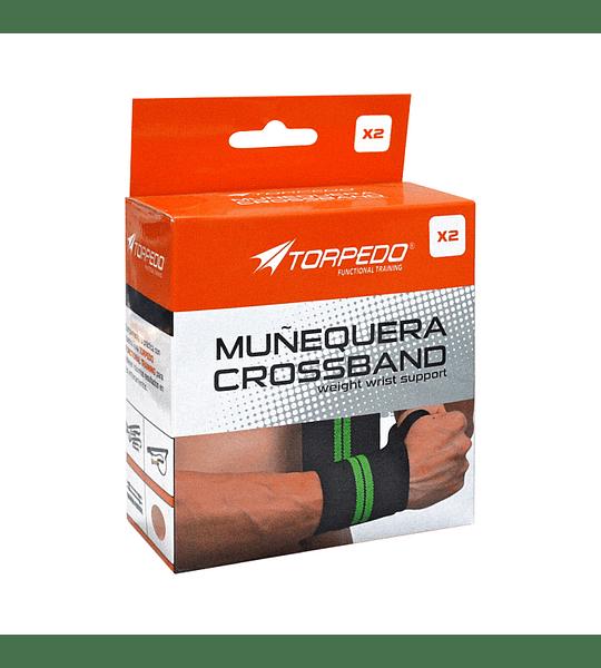 MUÑEQUERA TORPEDO CROSSBAND PAR