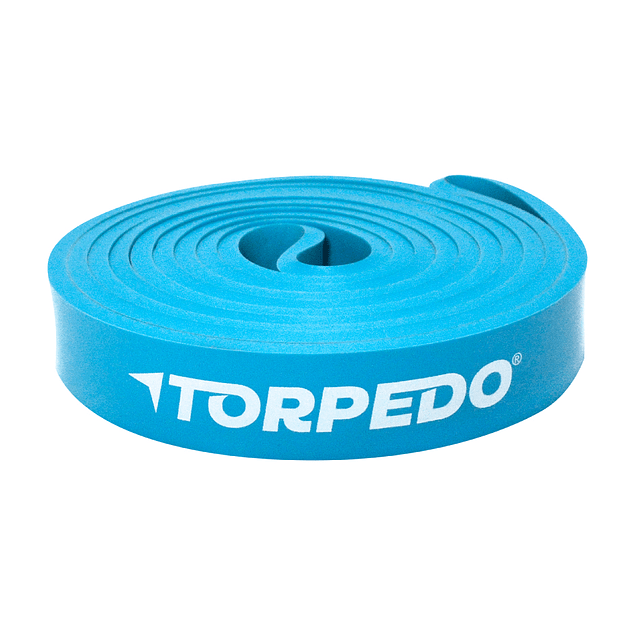 BANDA LATEX TORPEDO LOOP CYAN 2080