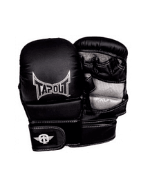 GUANTE MMA TAPOUT GARRA GRAPLING  NEGRO