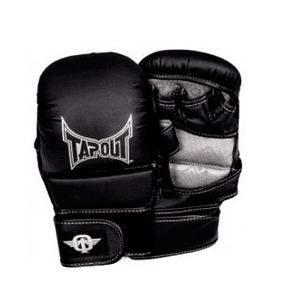 GUANTE MMA TAPOUT GARRA GRAPLING  NEGRO