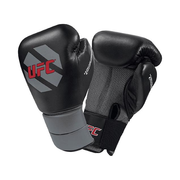 GUANTE BOX UFC TRAINING NEGRO-GRIS