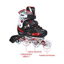 PATIN EN LINEA RIDER FAST FLASH