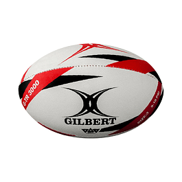 BALON RUGBY GILBERT G-TR3000 Nº3 JUNIOR ROJO