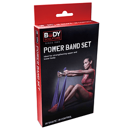 SET BANDAS RESISTENCIA POWER BODY SCULPTURE