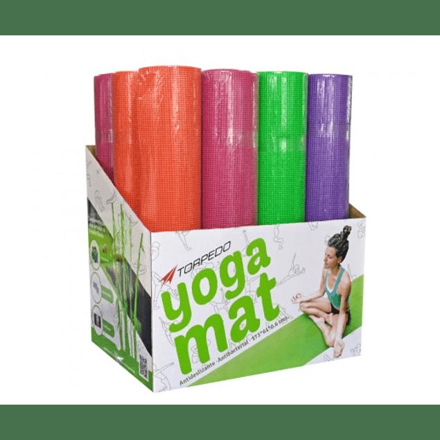 YOGA MAT TORPEDO COLORES INCLUYE PORTA MAT