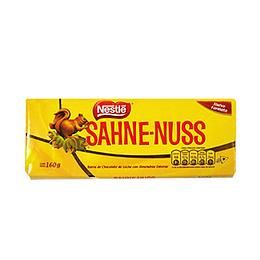Chocolate Sahne-Nuss Barra 160 Gr