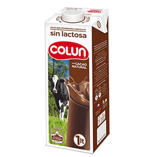 Leche Sin Lactosa Chocolate 1 Lt Colun