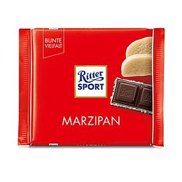 Chocolate Mazapan Barra 100 Gr Ritter Sport