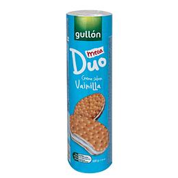 Galleta Mega Duo Vainilla 500 Gr Gullon