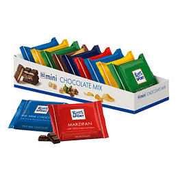 Chocolate Minibarras Mix Surtido 150 Gr Ritter Sport