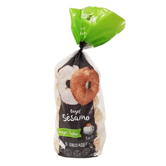 Pan Bagel Sesamo 650 Gr Bagels&Co