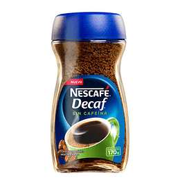 Cafe Decaf Descafeinado 170 Gr Nescafe