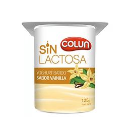 Yoghurt Batido Vainilla Sin Lactosa 4 X 125 Gr Colun