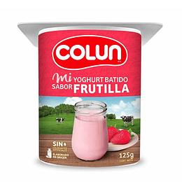Yoghurt Batido Frutilla 4 X 125 Gr Colun
