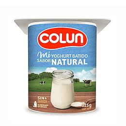 Yoghurt Batido Natural 4 X 125 Gr Colun