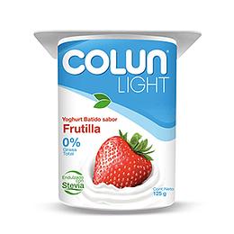 Yoghurt Frutilla Light Pack 4 X 125 Gr Colun