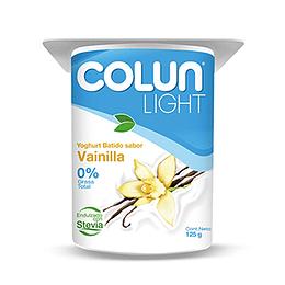 Yoghurt Vainilla Light Pack 4 X 125 Gr Colun
