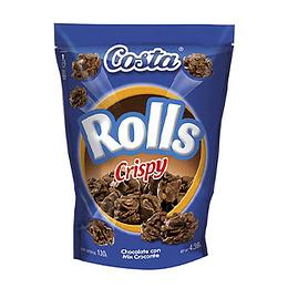 Chocolate Rolls Crispy 130 Gr Costa