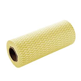 Paño Limpiador Prepicado Amarillo 25 Mts