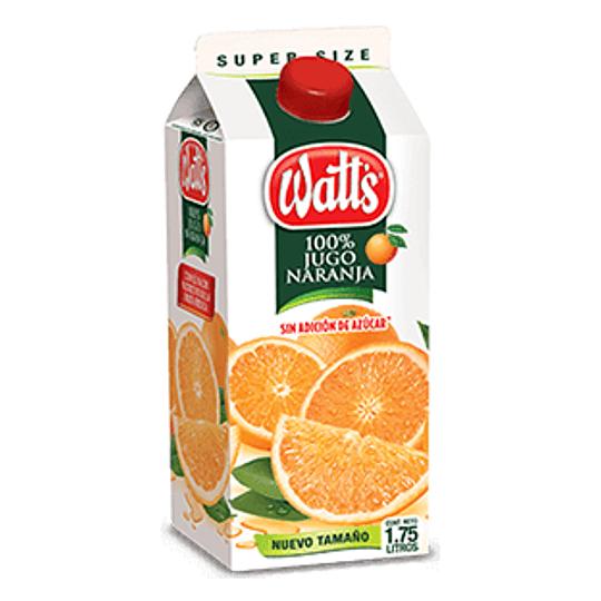 Naranja 100 % Jugo 1,75 Lt Watts
