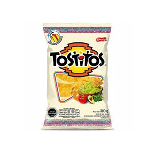 Tortillas de Maiz Saladas 300 Gr Tostitos