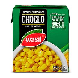 Choclo Dulce Tetra 340 Gr Wasil