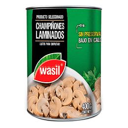 Champiñones Laminados 400 Gr Wasil