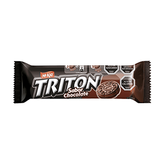 Galleta Triton Chocolate 126 Gr Mckay
