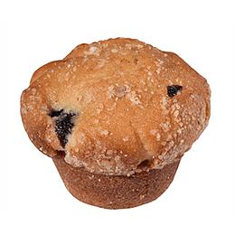 Muffins Vainilla con Arandanos 2 Unidades Gr Breden Master