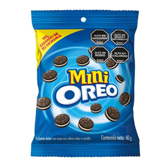 Galleta Mini Oreo 40 Gr Nabisco