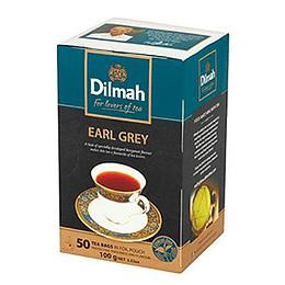 Te Negro Earl Grey 50 Bols Dilmah