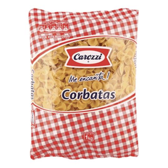 Fideos Corbata N° 80 Bolsa 1 Kg Carozzi