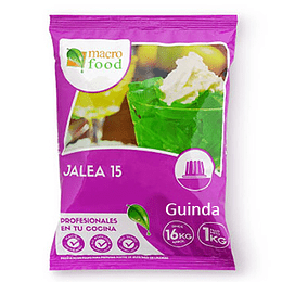 Jalea 15 de Guinda 1 Kg Macrofood