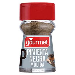 Pimienta Negra Molida Frasco 28 Gr Gourmet
