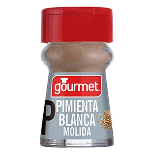 Pimienta Blanca Molida Frasco 28 Gr Gourmet