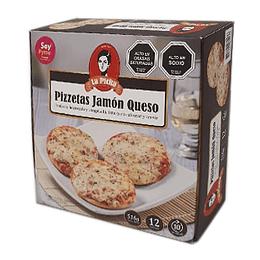 Pizzeta Jamon Queso 12 Unidades La Picha