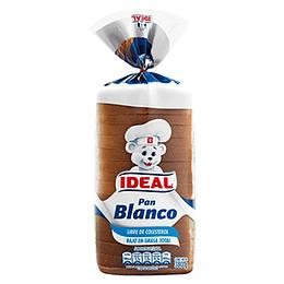 Pan Molde Blanco 380 Gr Ideal