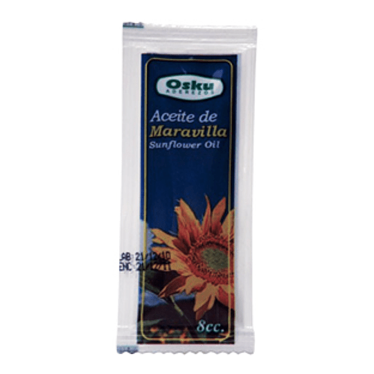 Aceite Maravilla Sachet 300 X 8 Ml Osku Caja