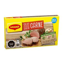Caldo Carne Tableta 120 Gr (12 Tabletas) Maggi