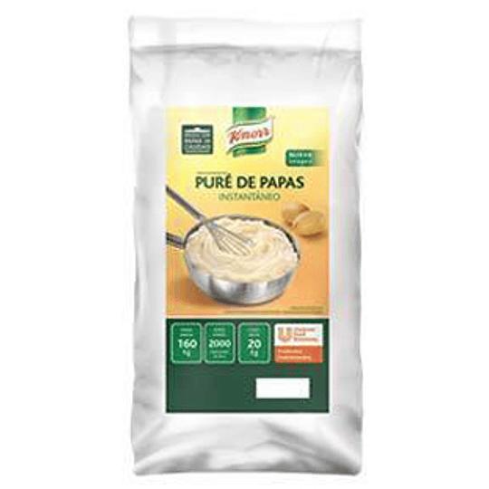 Pure de Papa Intantaneo Saco 20 Kg Knorr