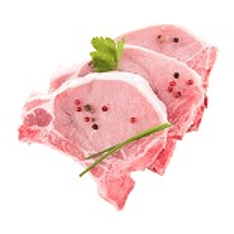 Cerdo Chuleta Centro Porcionada 220-240 Gr Caja 5 Kgs ($4.960 X Kilo)