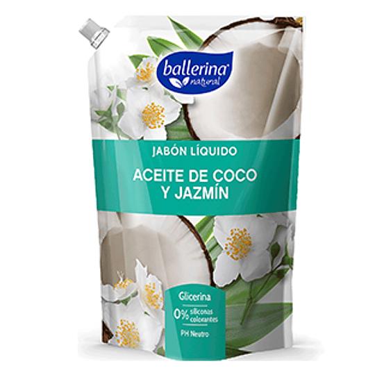 Jabon Liquido Coco Jazmin 900 Ml Ballerina