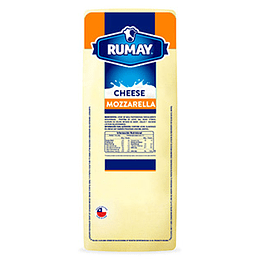 Queso Mozzarella Barra 4 Kg App Rumay ($7.490 X Kilo)
