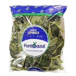 Espinaca Bolsa 500 Gr Punto Azul