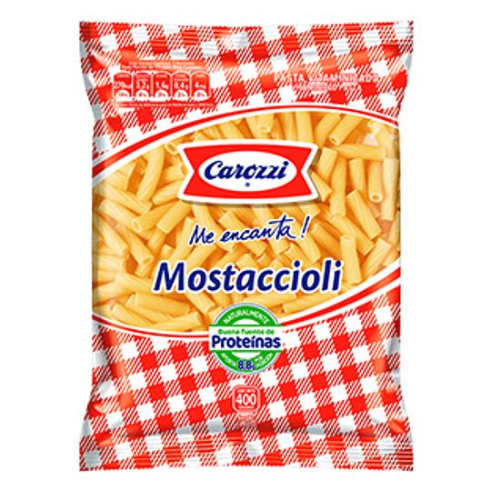 Fideos Mostaccioli 400 Gr Carozzi
