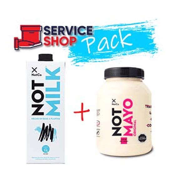 Pack Not Mayo Original 750 GR NotCo + Leche Not Milk 1 LT NotCo