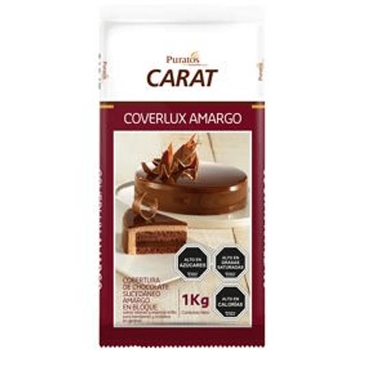 Cobertura Chocolate Amargo Coverlux 1 Kg Puratos