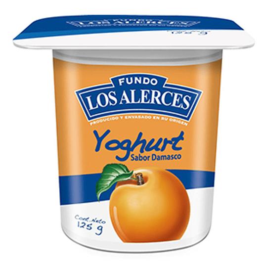 Yoghurt Damasco Pack 4 X 125 Gr Los Alerces