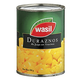 Durazno en Cubo 590 Gr Wasil
