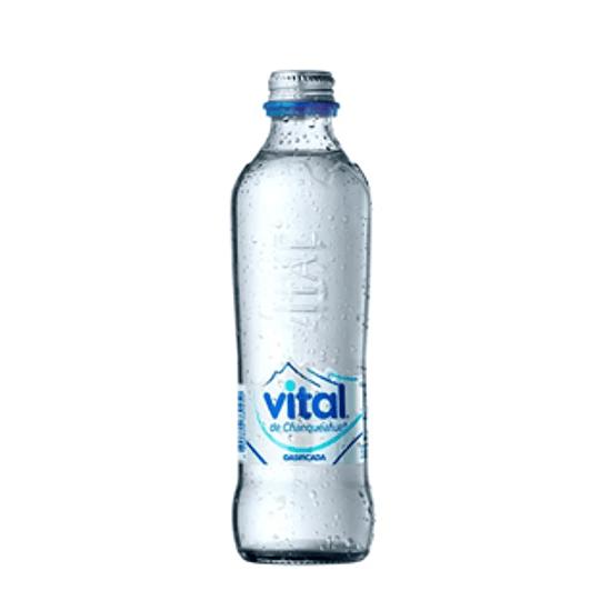 Agua Mineral Vidrio Desech. C/Gas 12 X 330 Ml Vital ($458 X Und)
